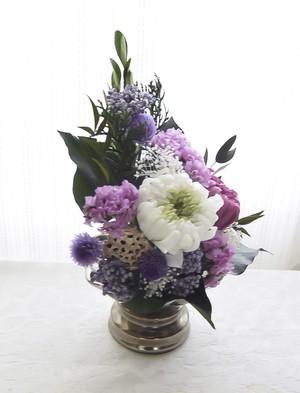 仏花 花器付