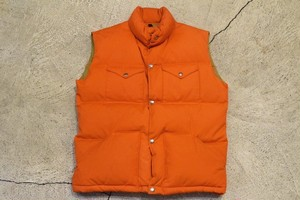 USED 70s THE NORTH FACE Down Vest -Medium 0819