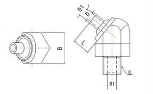 JTASP-3/8-10 高圧専用ノズル