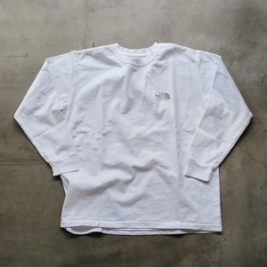 THE NORTH FACE PURPLE LABEL L/S Logo Tee WHITE