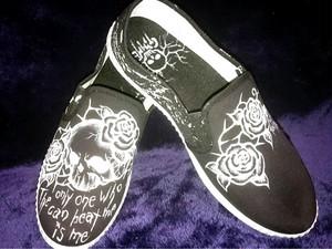 GiMME(ギミー) / Slip-on / Skull Rose