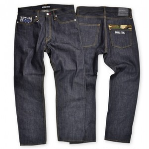DOUBLE STEAL  Double Pocket Narrow DENIM