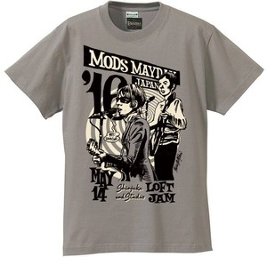 MODS MAYDAY JAPAN 2016 Official Tee (designed by Rockin' Jelly Bean)/ Gray