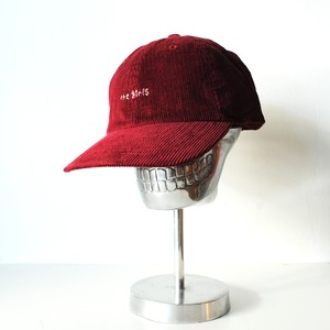 『the girls』Corduroy cap/Burgundy