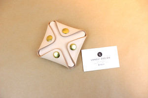 JAPAN LANSUI DESIGN 名入れ対応 ヌメ革手作り手縫い カードケース 名刺ケース 品番TTT32996S83JF