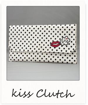 クラッチバッグ / リップモチーフ【Kiss Clutch】