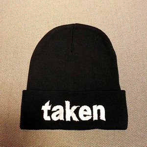 "TAKEN ""AND THEY SLEPT"" Beanie / Black"