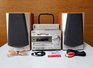 MINI HIFI COMPONENT SYSTEM SONY FH-MD11 MD & CD コンポ 綺麗な完動品