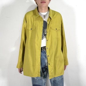 90's POLYESTER COTON L/S SHIRT