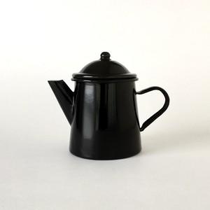 ホーローのコーヒーポット ブラック Coffee Pot Black