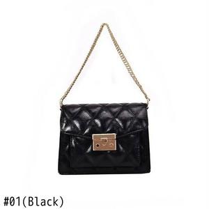 Shoulder Bag Leather Chain Flap Bag Vintage Small Messenger Bag Sac ショルダーバッグ レザー チェーン メッセンジャーバッグ ビンテージ (HF0-9442657)