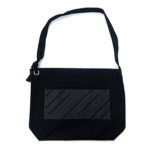 scar /////// MONOLITH RING SHOULDER BAG (Black)