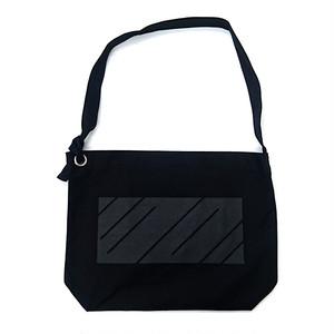 scar /////// MONOLITH RING SHOULDER BAG (Black)