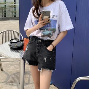 ピクチャープリントオーバーサイズTシャツ S3771