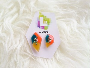 【LiR by meRyl.56】color fragment pierce / earring