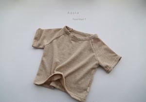 『翌朝発送』linen raglan T-shirt〈Aosta〉