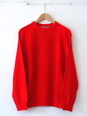 FUJITO C/N Rib Sweater Red,Khaki,Navy