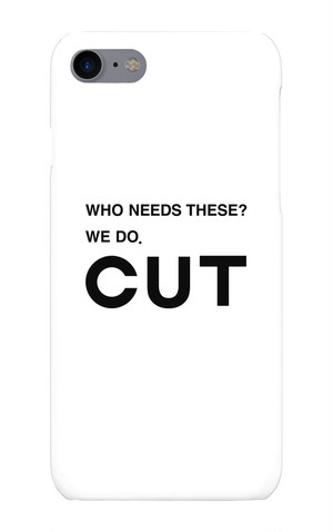 CUT オリジナルiPhoneケース