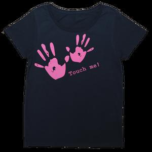 ドラミングハイ! 女性用Tシャツ(ネイビー) [DH-TS001]