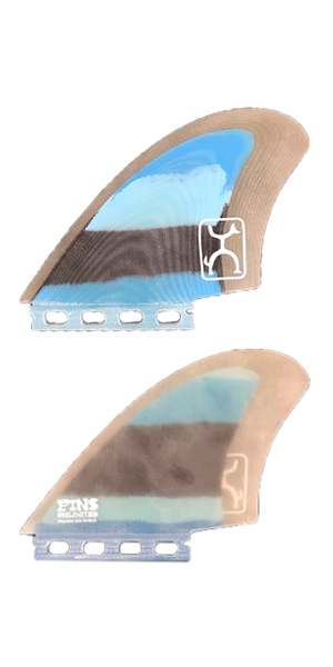 Rob Machado KEEL FIN 【BLUE×BLACK MULTI】