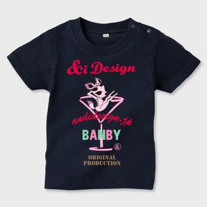 BAMBYベビーTシャツ 片面プリント
