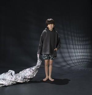 arkakama TONGARI HOODIE FAR (charcoal) M/L AKT00300-F 20AW