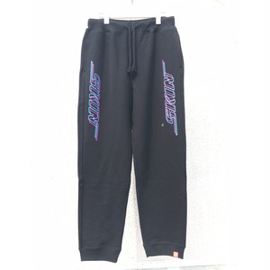 SKIN / logo sweat pants(blk)