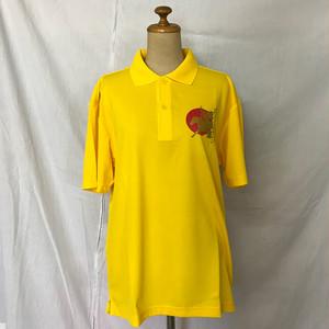 JAPAN流鏑馬 半袖ポロシャツ(イエロー)