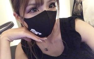 Logo mask / black