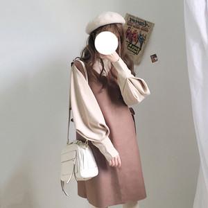 【dress】[単品注文]気質アップ人気キュート長袖デートワンピース15357479