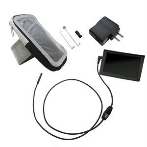★防水ファイバーカメラ 腕装着型LCD付き ファイバースコープ スネークカメラ