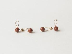 cherry dark orange【pierce/earring】