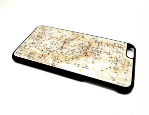 東京回路線図 iPhone6/6s  Plus ケース 白【LEDは光りません】【東京回路線図A5クリアファイルをプレゼント】