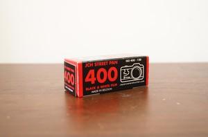 【モノクロネガフィルム 120 ブローニー】JCH(ジェイシーエイチ) JCH STREET PAN 400
