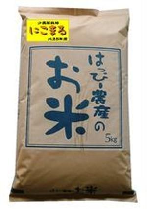 愛知県産 白米(にこまる)5kg【はっぴー米】