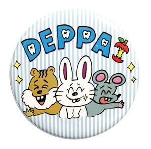 DEPPA缶バッチ