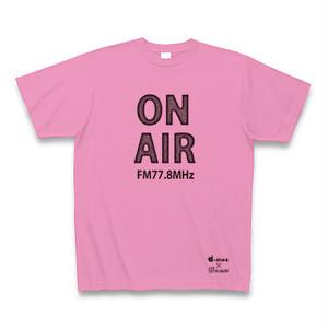【送料無料】FMいーにわオリジナルTシャツ(にわT) ピンク