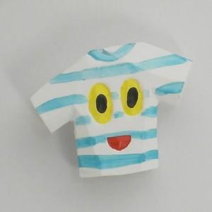 バッチ Tシャツ  bs-015