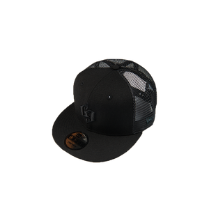 blueeq Mesh Cap / 9FIFTY™️ Black × Black [BQACC-011]