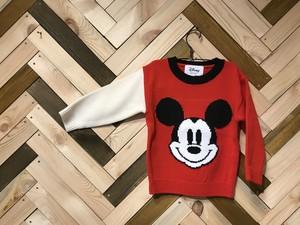 Mickeyニット