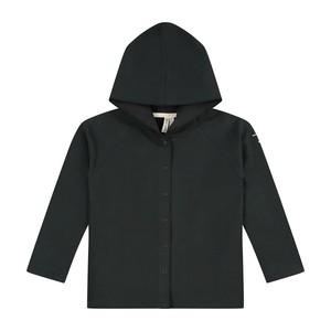 GRAY LABEL / Relaxed Hooded Cardigan[Nearly Black]