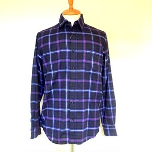 Viyella Check Regular Collar Shirts Royal