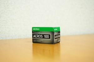 【 35mm モノクロネガ 】 FUJI FILM( フジフィルム )ネオパン 100 ACROS 36枚撮り