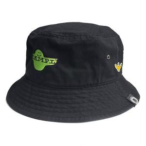 EXAMPLE × MARK GONZALES BUCKET HAT / BLACK