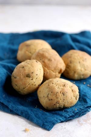 低糖質丸パン・マルチシード(5個セット)Keto Multiseed Bread - 5 Pieces