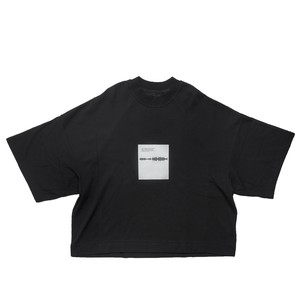677CPM14-BLACK / SHAPEDNOISE BOX Tシャツ