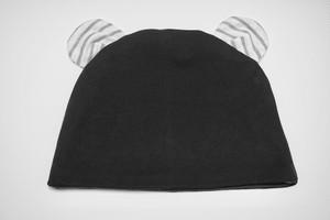 クマ耳ケア帽子(BR×NVD)