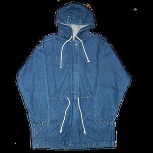 """Wrangler"" Vintage Long Denim Coat Used"