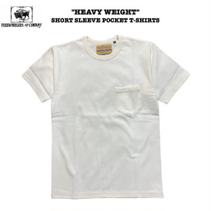 """HEAVY WEIGHT"" SHORT SLEEVE POCKET T-SHIRT FREEWHEELERS/フリーホイーラーズ ULTIMA THULE EQUIPMENT"