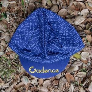 CADENCE / pulsar cycling cap (blue/yellow)